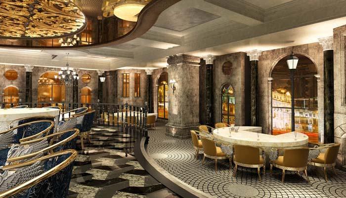 巴罗洛风格餐厅装修设计案例